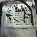 Chantry College Stone in front porch