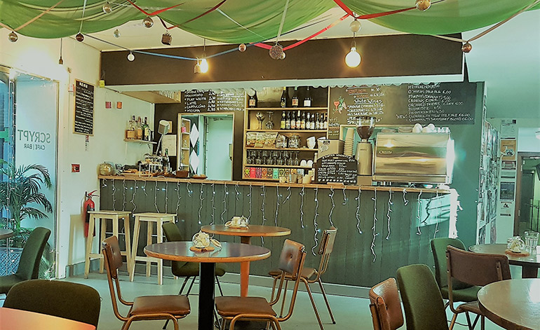 Scrypt Café Bar | Triskel Christchurch
