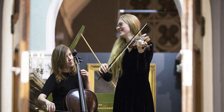 Norah O'Leary and Caitríona O'Mahony