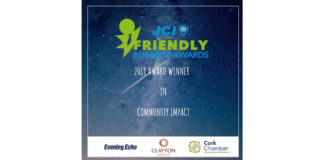 Triskel wins Community Impact category at JCI Cork Friendly Business Awards