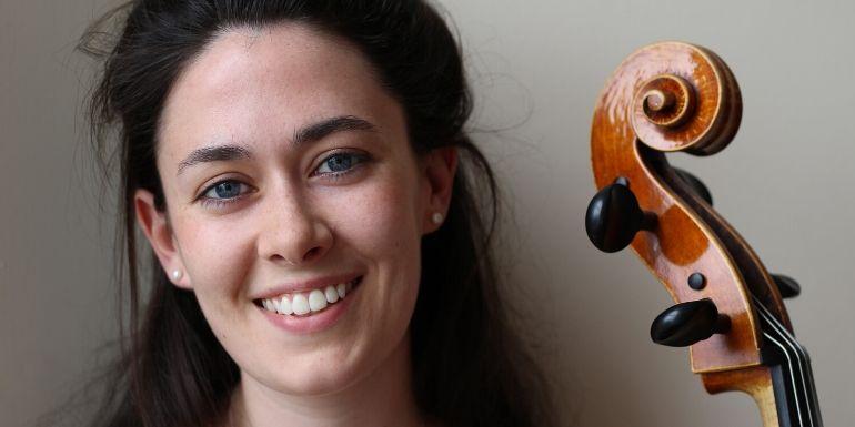 Aoife Burke, cellist, online from Triskel