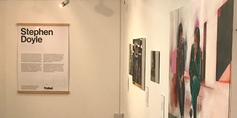 Stephen Doyle Numb exhibition