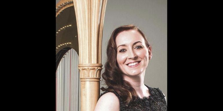 Geraldine O'Doherty, harpist
